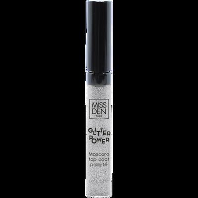 Mascara glitter power argent 884 MISS DEN, nu