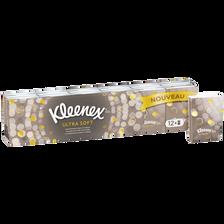 Kleenex Mouchoirs En Papier Ultra Soft , 12 Mini Étuis