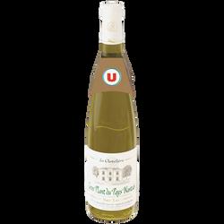 Vin blanc AOC Gros Plant du pays Nantais sur lie La Chatelière U, 75cl