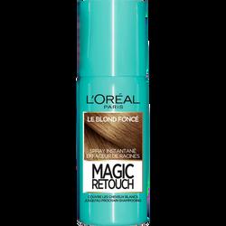 Spray instantané effaceur de racines blond foncé n°4 MAGIC RETOUCH, 75ml