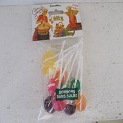 Sucettes sans sucres Lucien Georgelin sachet de 100 gr