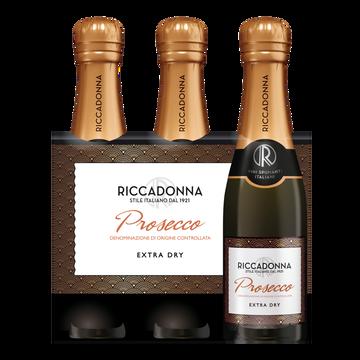 Prosecco Prosecco Doc Riccadonna, 11°, 3x20cl