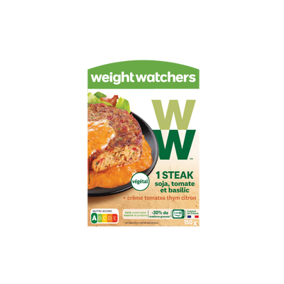 Steack de soja tomate et basilic WEIGHT WATCHERS, 150g
