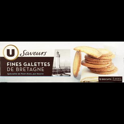 Fines galettes de Bretagne U SAVEURS, 100g