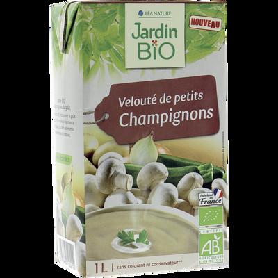 Velouté de champignons JARDIN BIO, 1L