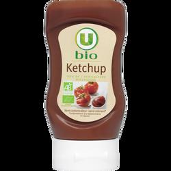 Ketchup nature U BIO, flacon souple de 340g