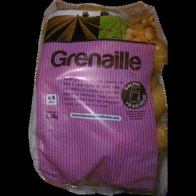 Pomme de terre grenaille, nlle.récolte, de consommation à chair ferme,15/35mm, cat.1, Fra., sht fraicheur 1,5k