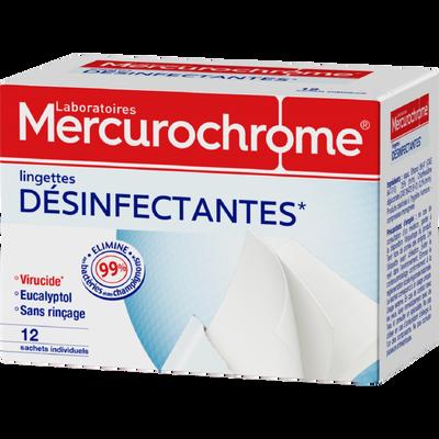 Lingette desinfectante st ind. MERCUROCHROME