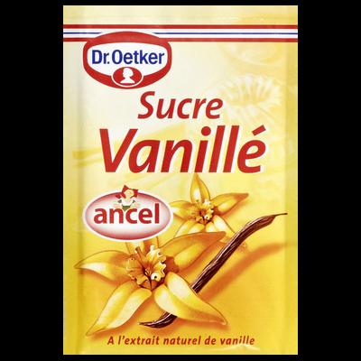 Sucre vanillé ANCEL, 10 sachets, 80g