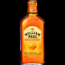 Scotch whisky, WILLIAM PEEL, honey 35°, bouteille de 70cl