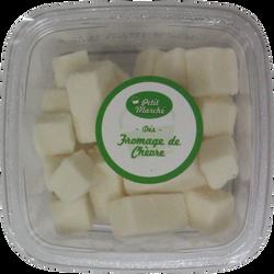 Dés de fromage de chèvre, au lait pasteurisé, 32% de MG, 120g