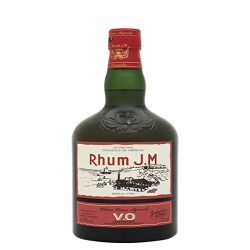 Rhum vieux agricole VO, AOC, RHUM JM, 43°, 70cl