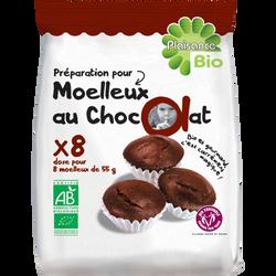 Préparation pour moelleux au chocolat PLAISANCE BIO, 230g