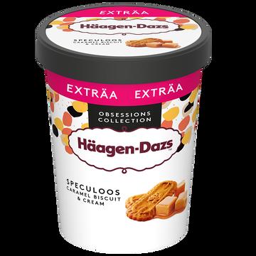 Häagen-Dazs Crème Glacée Caramel Morceau Biscuit Spéculoos Haagen Dazs, 560g
