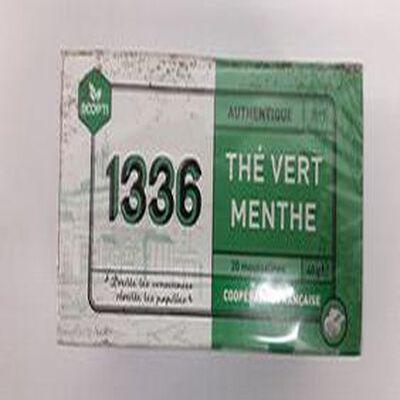 THE VERT MENTHE 20 MOUSSELINES 40g