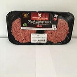 steak hache de boeuf 250GR  15%MG