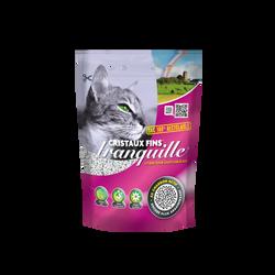 TRANQUILLE Cristaux Fins Charbon actif sac recyclable, 3,7L