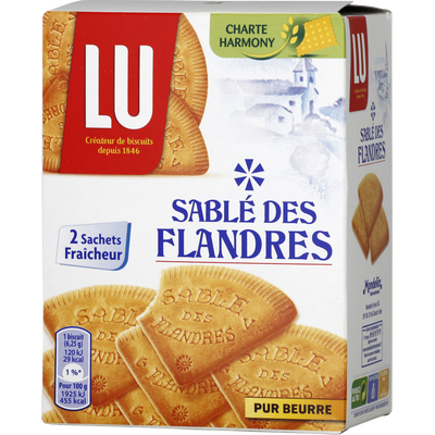 Sablés des Flandres LU, 250g