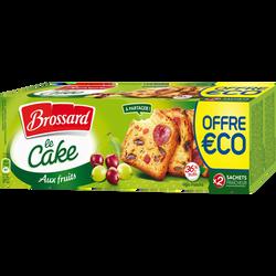 Cake aux fruits BROSSARD, paquet de 500g
