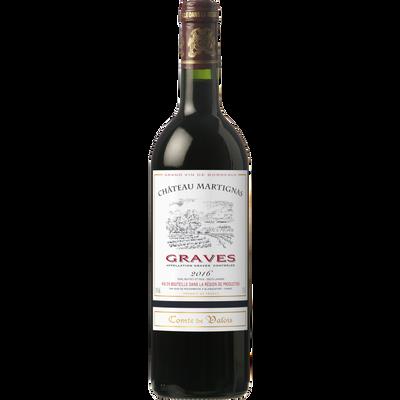 Graves AOC rouge Comte de Valois, 75cl