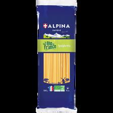 Spaghettis bio de France ALPINA SAVOIE, 500g