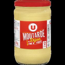 Moutarde forte de Dijon U, pot standard de 72 cl