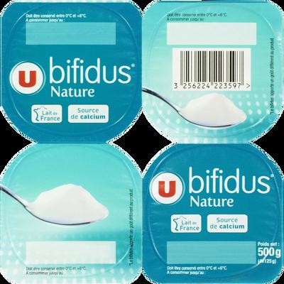 Lait fermenté au lait entier au bifidus nature U 4x125g