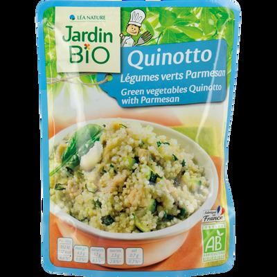 quinotto legumes verts parmesan sachet express - 220g