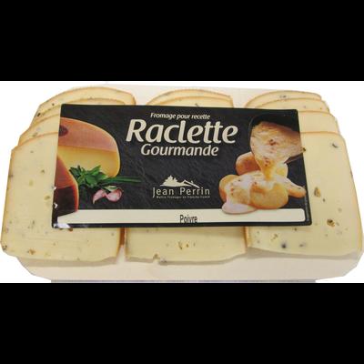 Raclette poivre au lait pasteurisé 30%mg JEAN PERRIN 360g