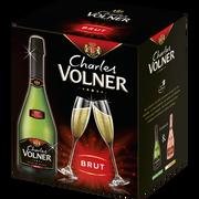 Charles Volner Vin Mousseux Qualité Blanc De Blancs Brut Charles Volner, 6x75cl