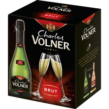 Charles Volner Vin Mousseux/qualité Blanc/blancs Brut  6x75cl
