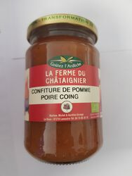 CONFITURE POMME/POIRE/COING