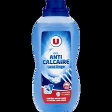 Gel anti-calcaire lave-linge U, bouteille de 750ml
