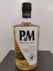 Whisky P&M Vintage 70CL 40°