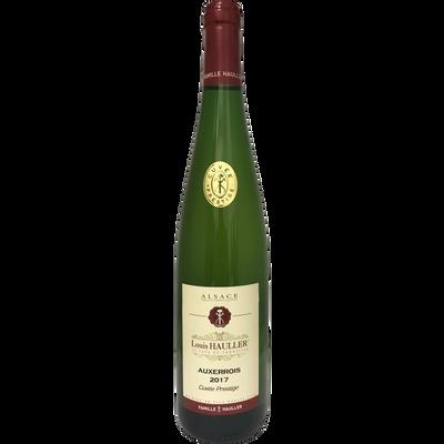 Vin blanc AOP Auxerrois Cuvée du Tonnelier Louis Hauller, 75cl