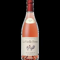 Vin rosé Lubéron AOP  LA VIEILLE FERME, 75cl