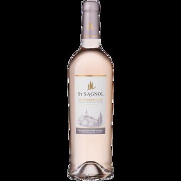 OL Igp Méditerranée Rosé Saint Sagnol, 75cl