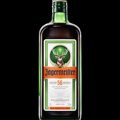 Liqueur de plantes JAGERMEISTER, 35°, bouteille de 1,75l