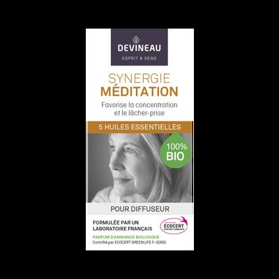 Synergie méditation bio, 10ml, huile essentielle