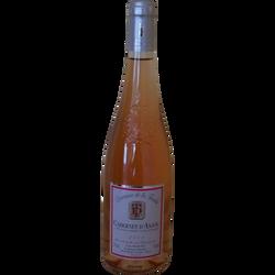 Vin rosé Cabernet d'Anjou AOC Domaine de la Touche, 75cl