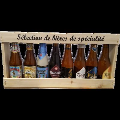 Sélection de spécialité, 8 bouteilles de 33cl