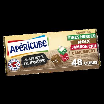 Apéricube Fromage Fondu Apéritif Apericube Saveurs De L'authentique 48 Cubes, 250g