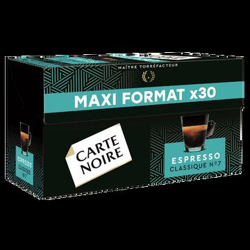 Carte Noire Café Espresso Classique N°7 Carte Noire, X30 Soit 159g