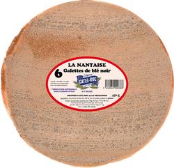 *GALETTE DE BLE NOIR X6 LA NANTAISE  CATEL ROC  450gr