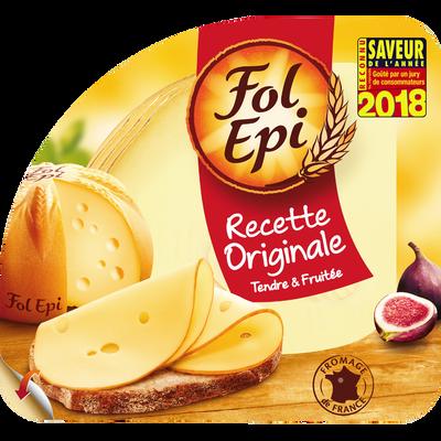 Fromage au lait pasteurisé en tranches 28% de matière grasse FOL EPI,150g