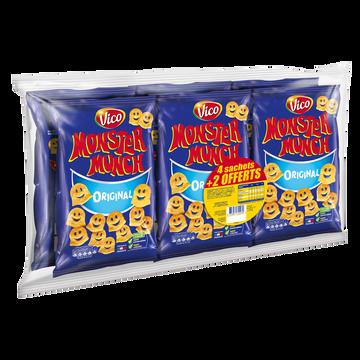 Monster Munch Monster Munch Salé Vico Sachet 4x85g + 2 Offerts