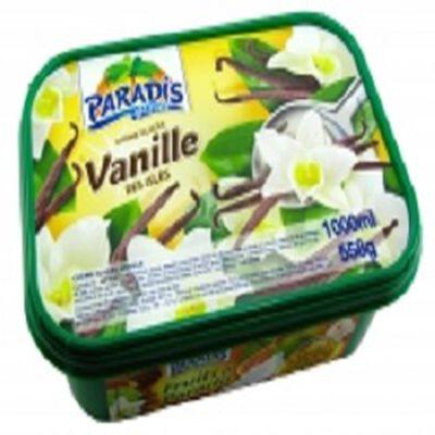 Crème glacée vanille des isles, PARADIS, 1l