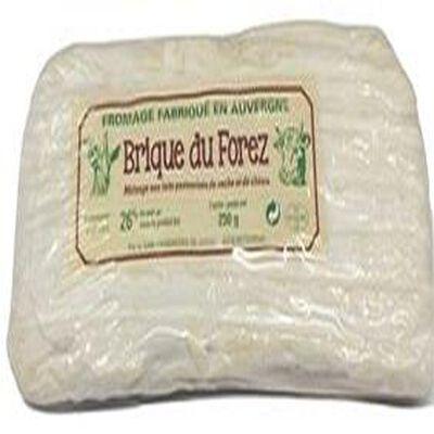 brique du forez melange aux lait de vache et de chevre 250gr