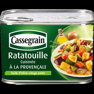 Ratatouille cuisinée à la Provençale CASSEGRAIN, 660g