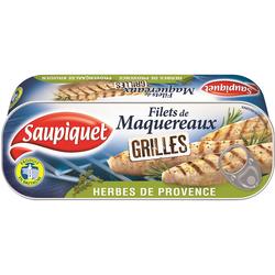 Filets de maquereaux grillés aux herbes Provence SAUPIQUET, 20g